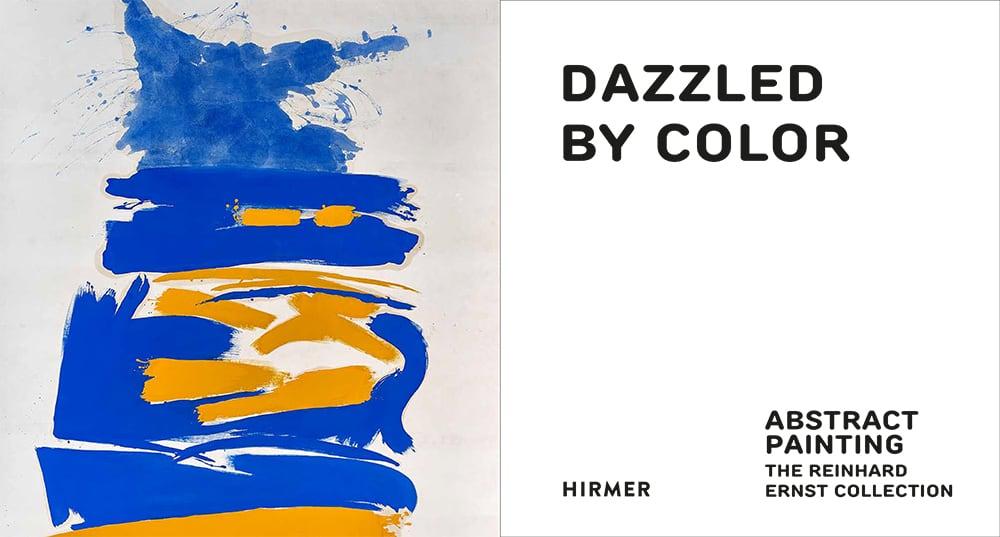 """""""Faszination Farbe"""" (Innentitel) mit der Abbildung von """"One times One"""" (Friedel Dzubas, 1961, © Estate of Friedel Dzubas)"""